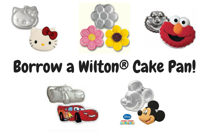 Borrow A Wilton Cake Pan